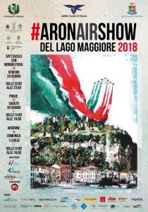 Manifesto #Aronairshow del Lago Maggiore 2018