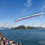 EGS2018_19828 | Aronairshow2018, l'esibizione delle Frecce Tricolori della Pattuglia Acrobatica Nazionale dell'Aeronautica Militare