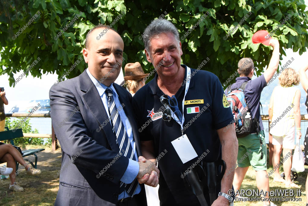 EGS2018_20852 | Il ministro Alberto Bonisoli con il vicesindaco di Arona Federico Monti