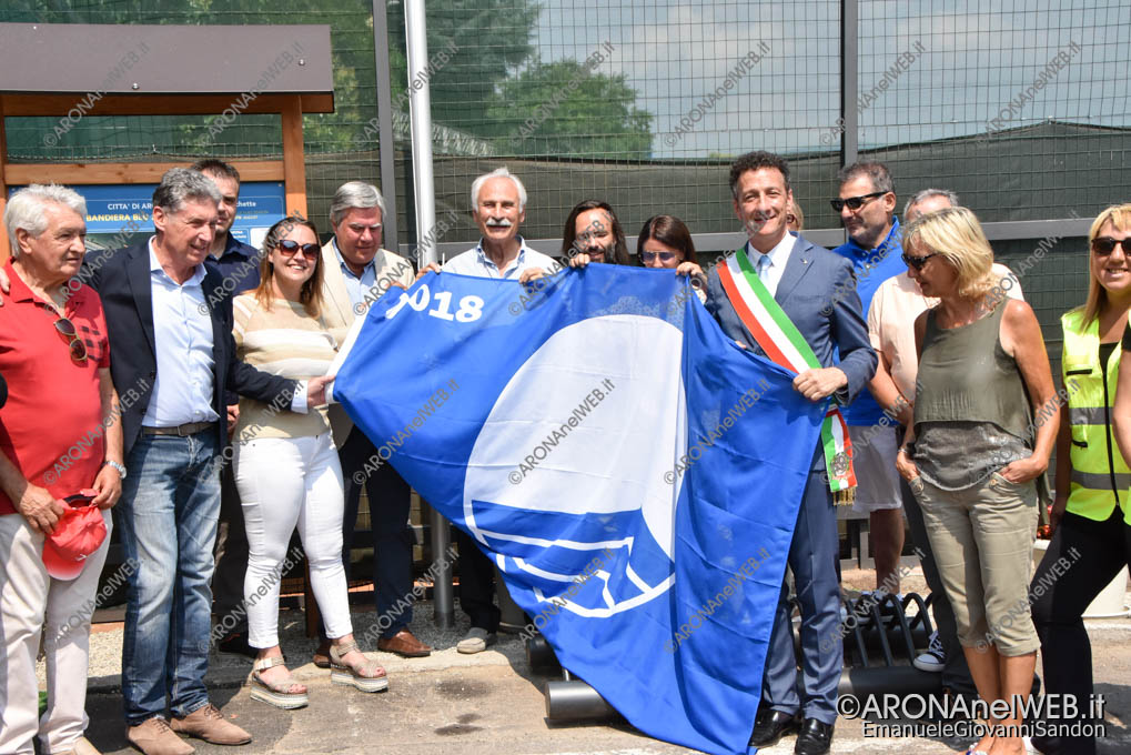 EGS2018_22415   Bandiera Blu 2018 - Arona, Spiaggia delle Rocchette