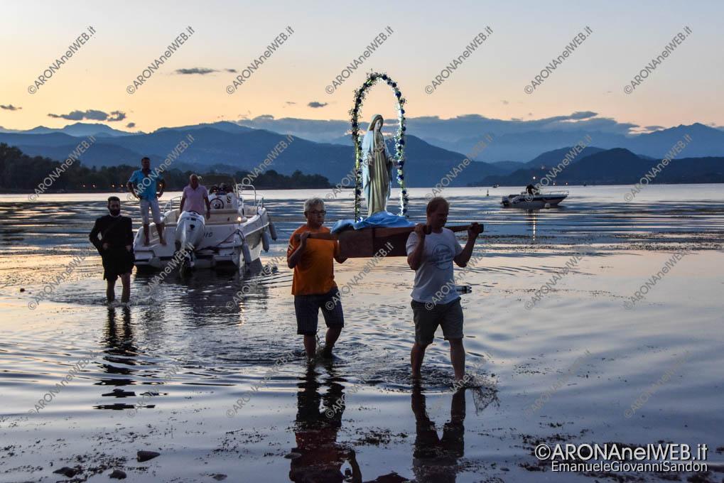 EGS2018_26713 | La madonna arriva dal lago alla spiaggia della Verbanella