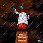 EGS2018_27753   Statua di San Carlo, videomapping a cura di Electric Land