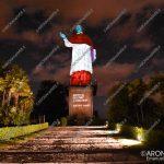 EGS2018_27755   Statua di San Carlo, videomapping a cura di Electric Land