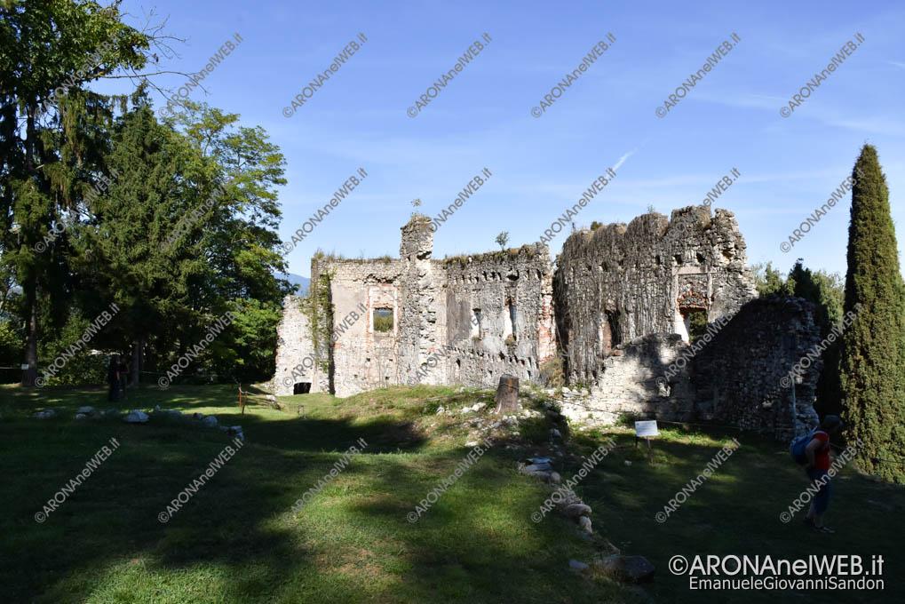 EGS2018_27782 | I ruderi del castello al parco della Rocca di Arona