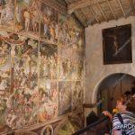 """EGS2018_29143   La """"parete Gaudenziana"""" nella chiesa di Santa Maria delle Grazie a Varallo"""