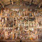 """EGS2018_29151   La """"parete Gaudenziana"""" nella chiesa di Santa Maria delle Grazie a Varallo"""