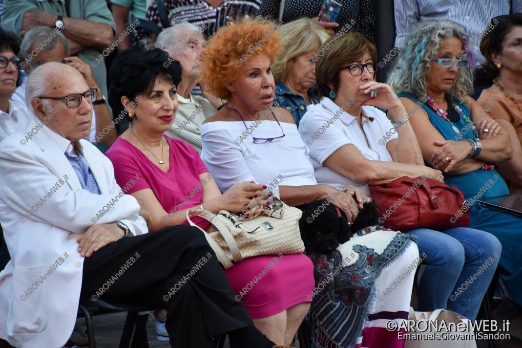 EGS2018_29899   Tra il pubblico in prima fila la cantante Ornella Vanoni