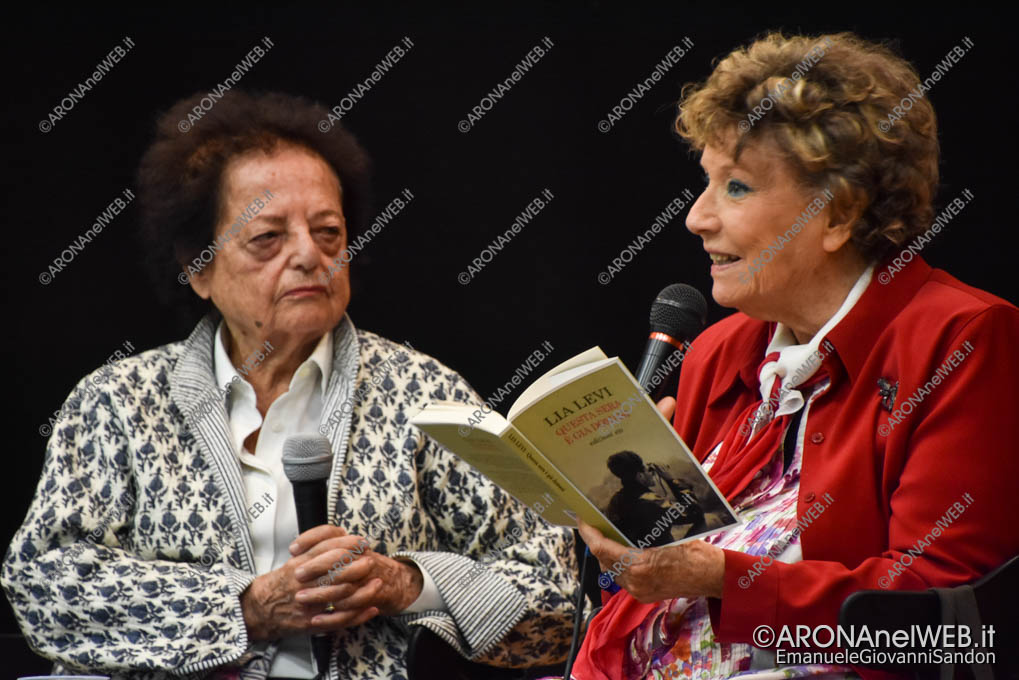 EGS2018_30697 | Lia Levi dialoga con Dacia Maraini a il Teatro sull'Acqua 2018