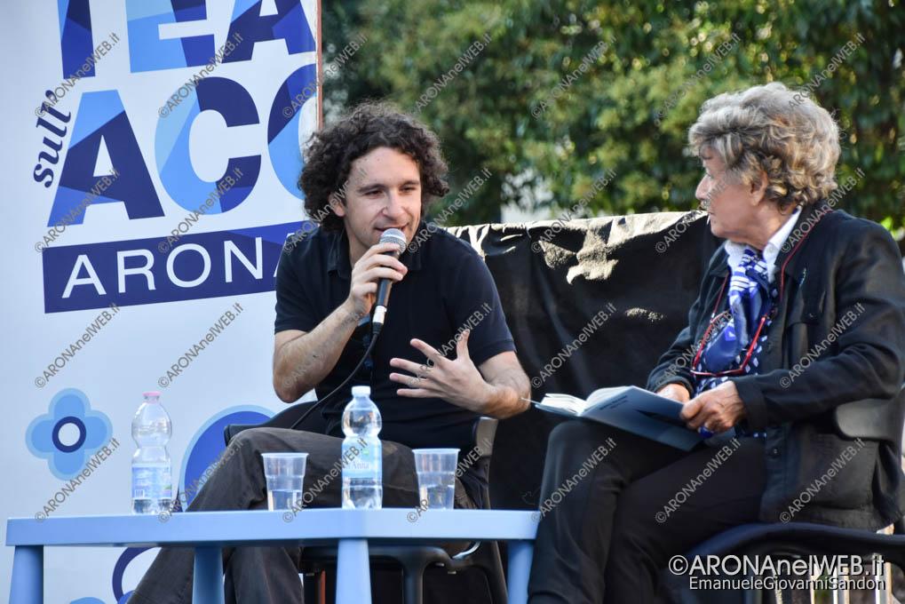 EGS2018_30902   Marco Balzano dialoga con Dacia Maraini a il Teatro sull'Acqua 2018
