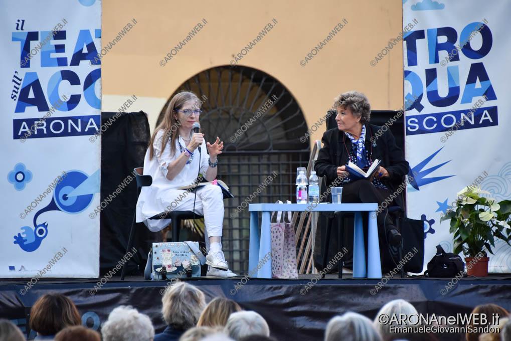EGS2018_30934 | Maria Pia Valediano dialoga con Dacia Maraini a il Teatro sull'Acqua 2018