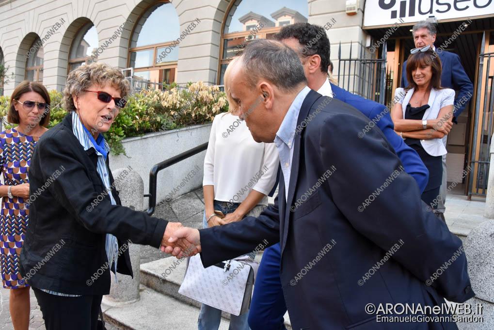 EGS2018_31375 | Il ministro alla cultura Alberto Bonisoli con Dacia Maraini