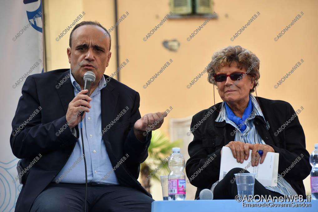 EGS2018_31457 | Il ministro alla cultura Alberto Bonisoli con Dacia Maraini
