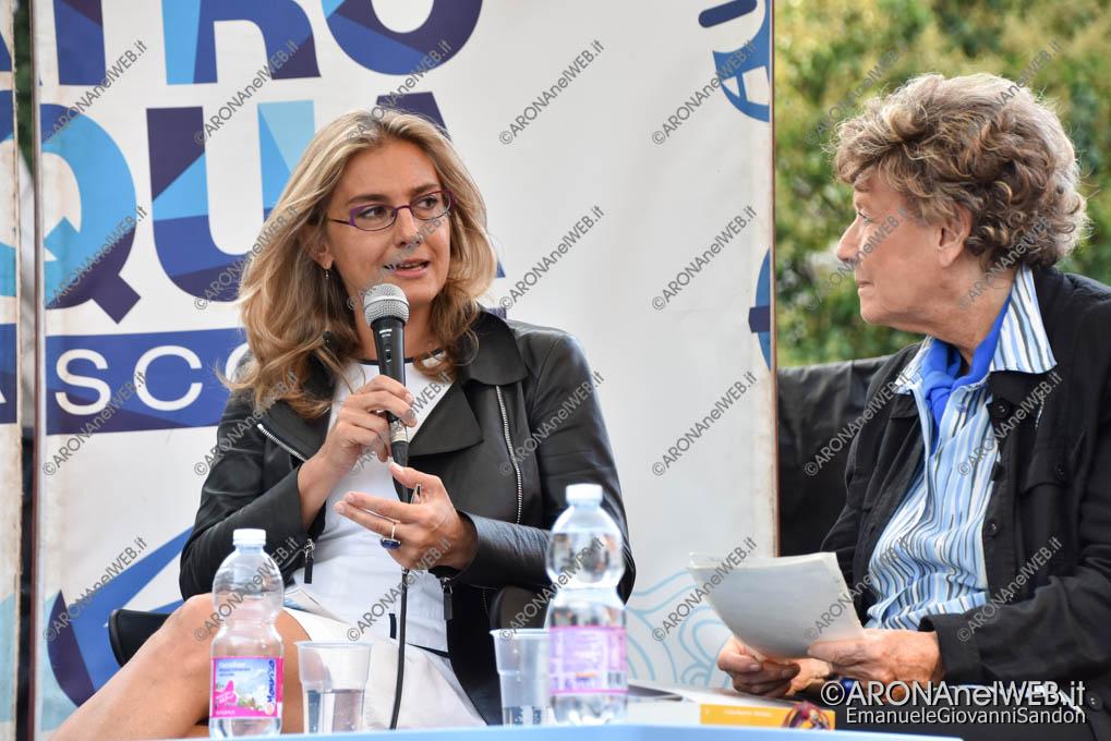 EGS2018_31522 | Cristina Battocletti dialoga con Dacia Maraini a il Teatro sull'Acqua 2018