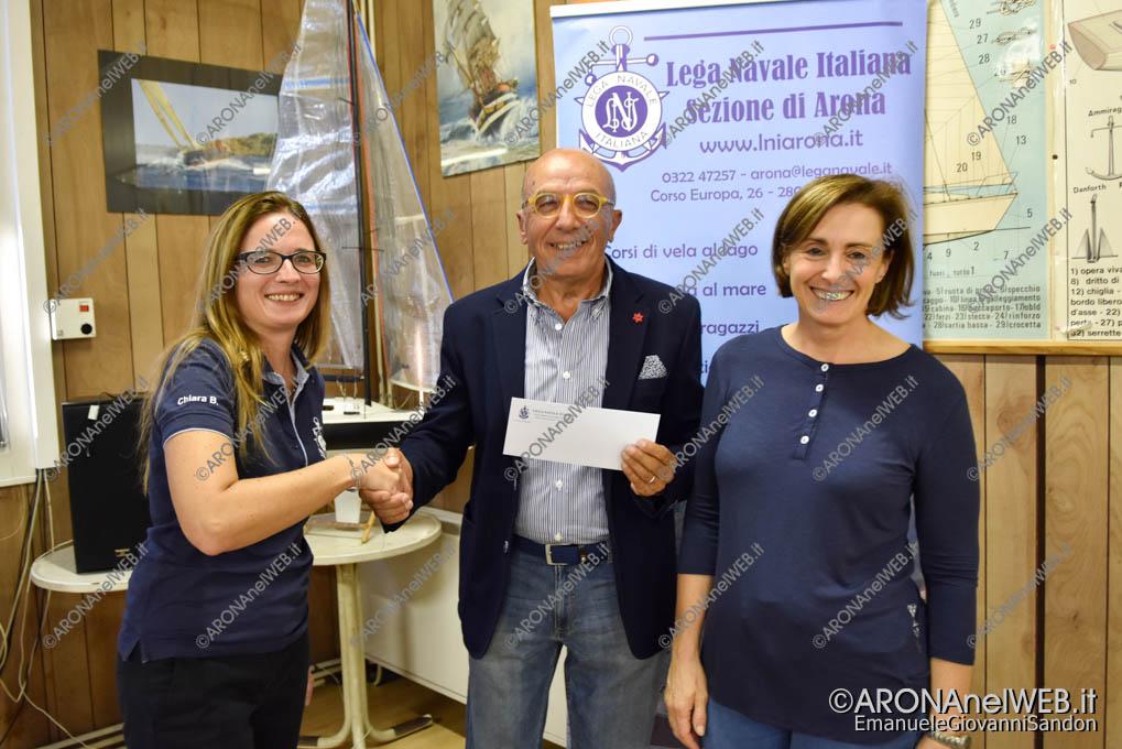 EGS2018_34663 | La Lega Navale Italiana consegna il contributo al dott. Carmelo Cavallaro dell'Auser Borgomanero