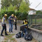 EGS2018_35140 | Puliamo il Mondo a Dormelletto: raccolta oltre una tonnellatadi rifiuti abbandonati nei boschi