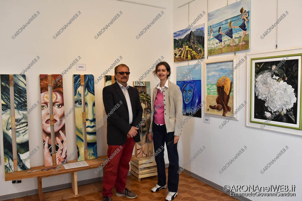 """EGS2018_36562   Mostra Collettiva """"Art Arona 2018"""" - Laboratorio Artistico e Culturale """"La Fenice"""""""