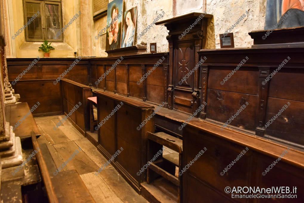 EGS2018_36678 | Il coro ligneo della Chiesa di Santa Marta ad Arona