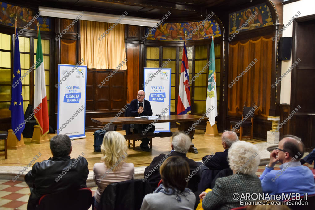 EGS2018_36707 | Aldo Bonomi ad Arona per il Festival della Dignità Umana