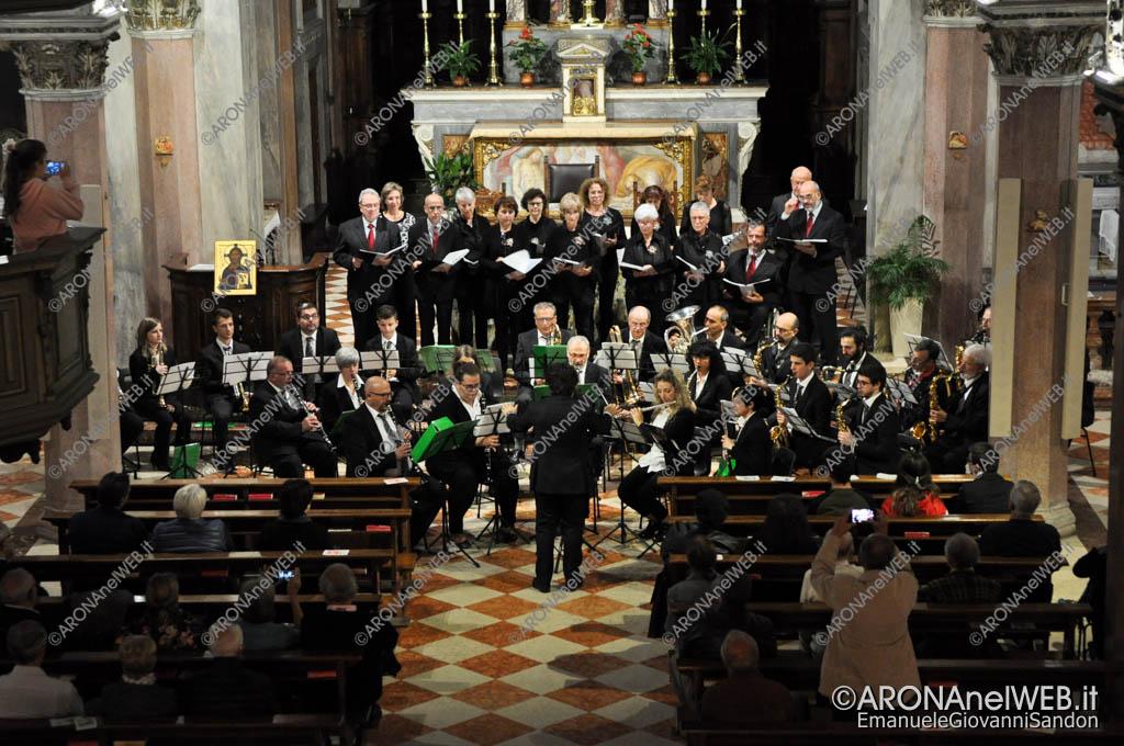 """EGS2018_37021   Nuova Filarmonica Aronese con il Coro """"Sancta Maria De Egro"""""""