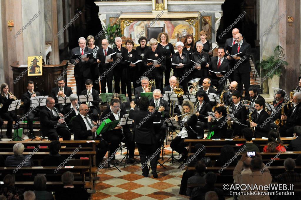 """EGS2018_37142   Nuova Filarmonica Aronese con il Coro """"Sancta Maria De Egro"""""""