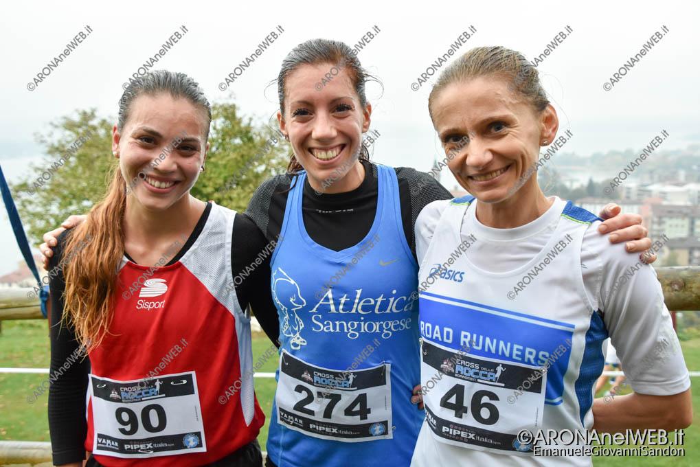 EGS2018_37576   Femminile, podio: Roberta Vignati 274, Drelicharz Joanna Marta 46, Schiavon Chiara 90