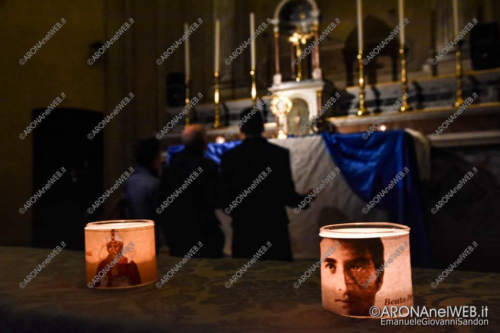 EGS2018_37747   Luce nella Notte nella chiesa di Sant'Anna ad Arona