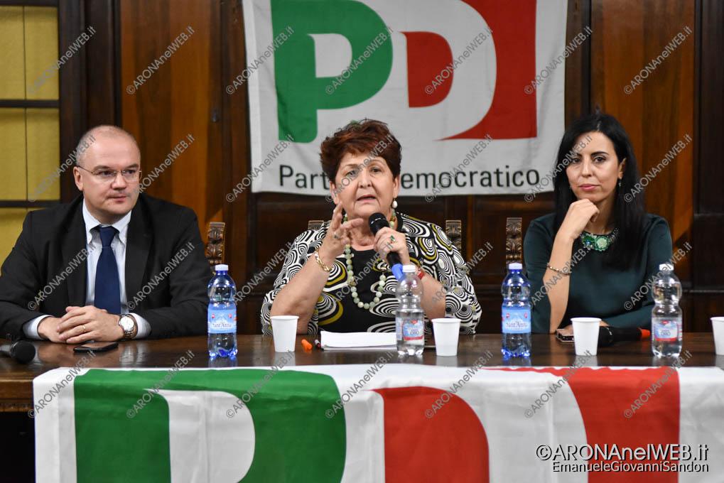 EGS2018_37761 | Incontro PD Arona con la senatrice Teresa Bellanova
