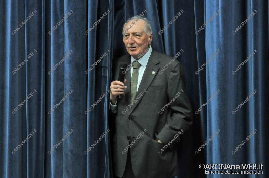 EGS2018_37800   Il saluto del dott. Gianni Corneo presidenti dell'associazione Cilla per Haiti