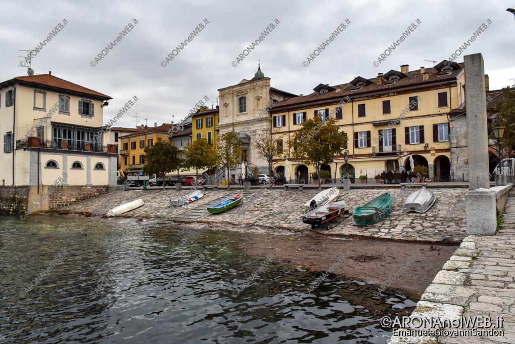 EGS2018_38033_31ottobre2018 | Piazza del Popolo - livello del Lago Maggiore 194,76 m s.l.m.