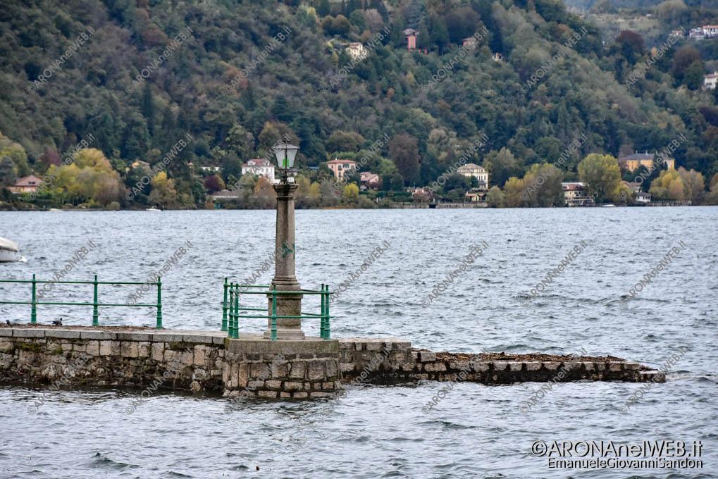 EGS2018_38214 | Lago Maggiore, raggiunta la piena ordinaria - Arona, Piazza del Popolo - 195.03 m slm