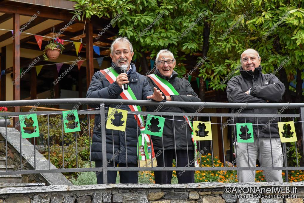 EGS2018_38347 | Il sindaco di Lesa Roberto Grignoli e il sindaco Valter Leto di Belgirate