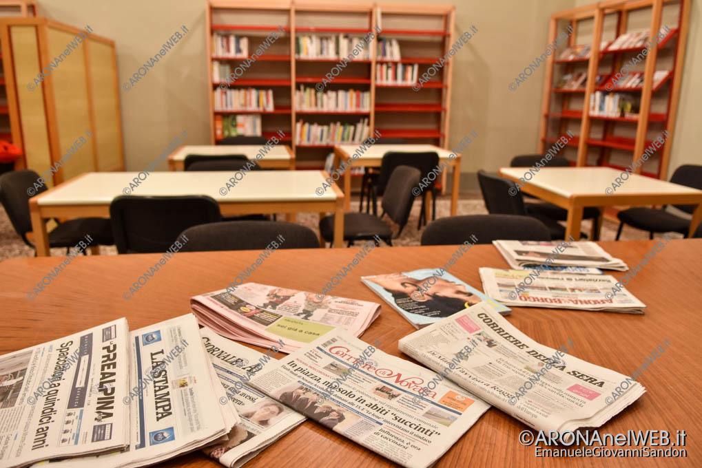 EGS2018_39019 | La micro-biblioteca aperta nella sala Tommaso Moro del Comune di Arona