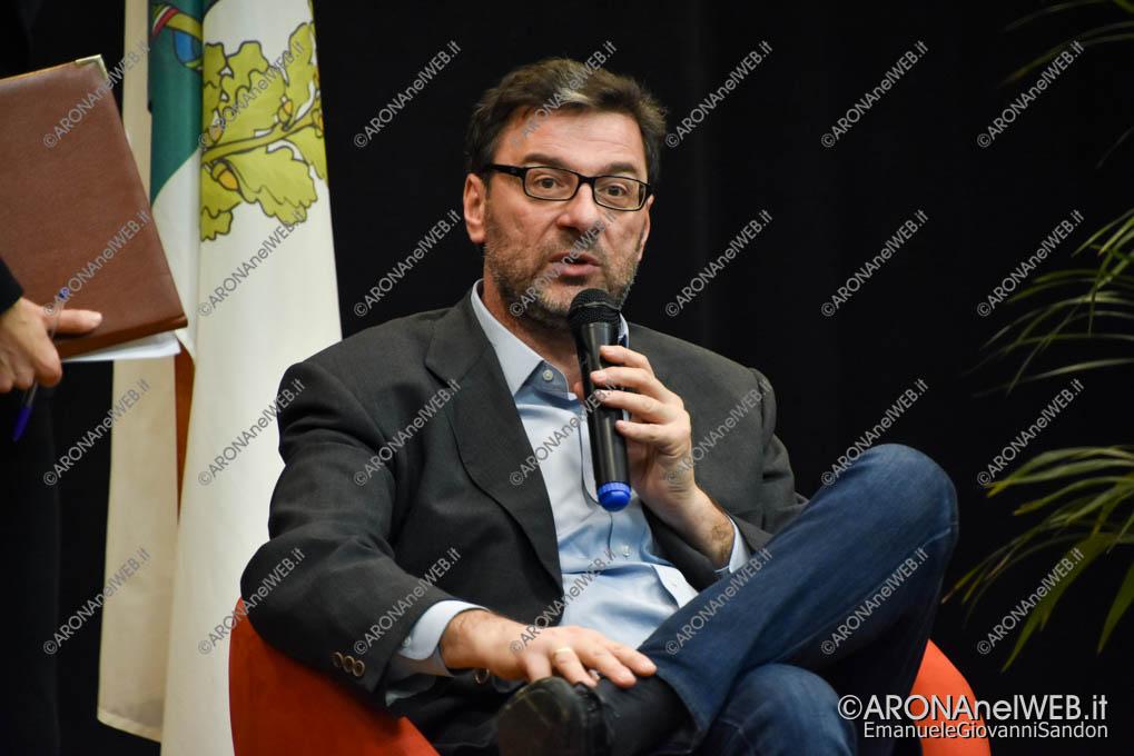 EGS2018_39415 | On. Giancarlo Giorgetti – Sottosegretario alla Presidenza del Consiglio