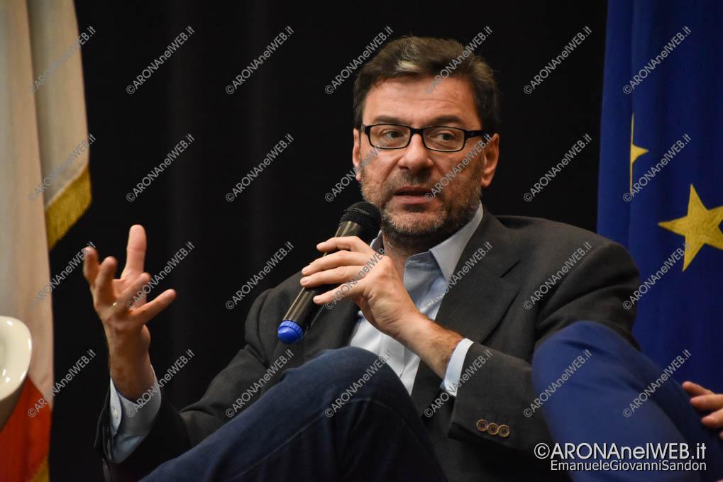 EGS2018_39522 | On. Giancarlo Giorgetti – Sottosegretario alla Presidenza del Consiglio