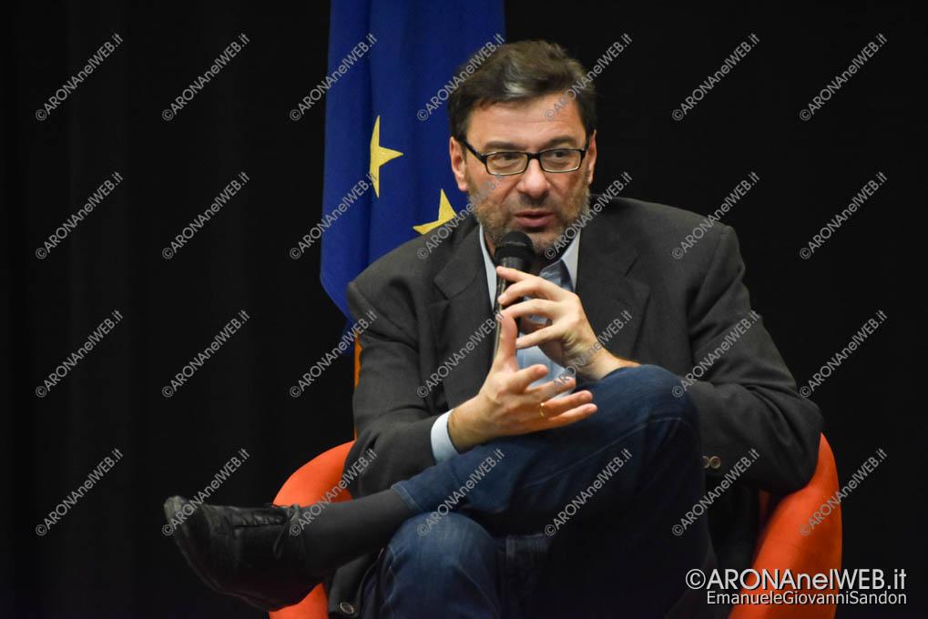 EGS2018_39530 | On. Giancarlo Giorgetti – Sottosegretario alla Presidenza del Consiglio