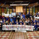 EGS2018_41186   Ugo Nespolo con i ragazzi della scuola primaria Nicotera di Arona