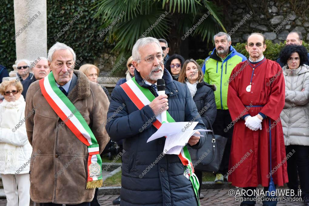 EGS2018_42091   Il sindaco di Lesa Roberto Grignoli e Valter Leto di Belgirate