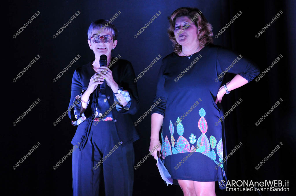 EGS2018_42405 | La dott.sa Maria Chantal Ponziani con Stefania Demicheli