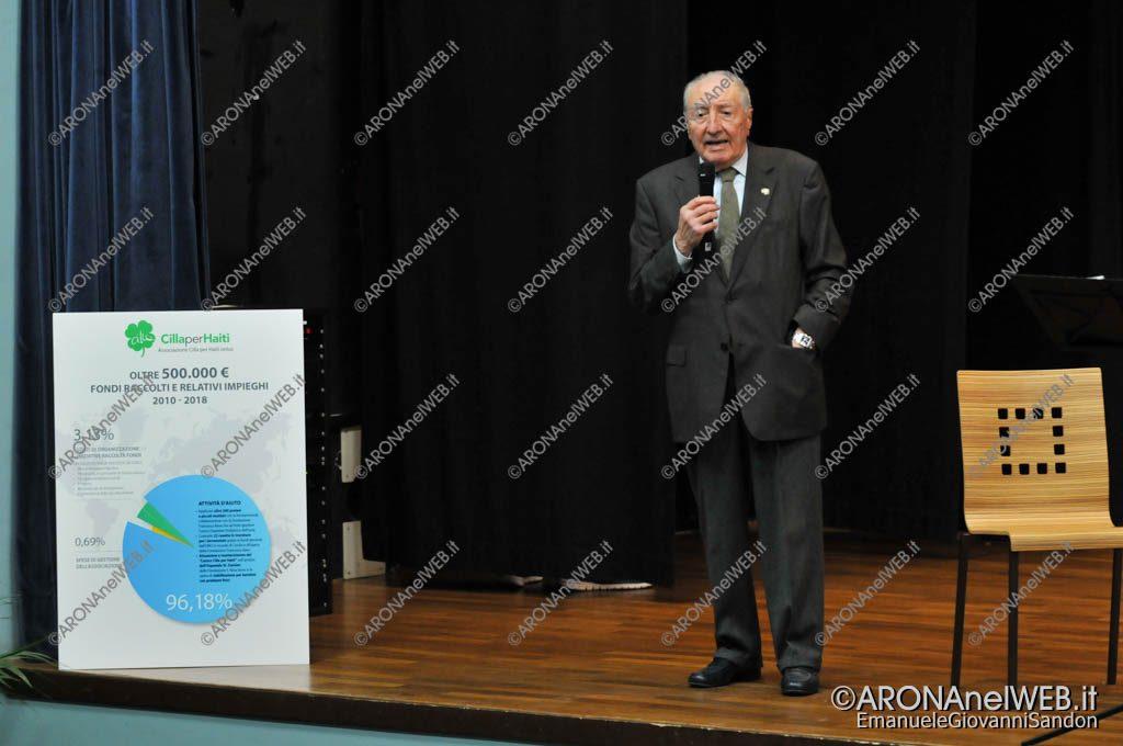 EGS2019_01721 | Gianni Corneo, presidente dell'associazione Cilla per Haiti