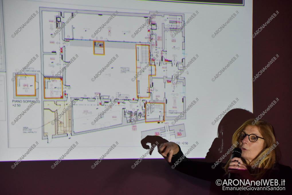 EGS2019_03042 | L'Ing. Silvana Paganelli Azza illustra il progetto definitivo della biblioteca