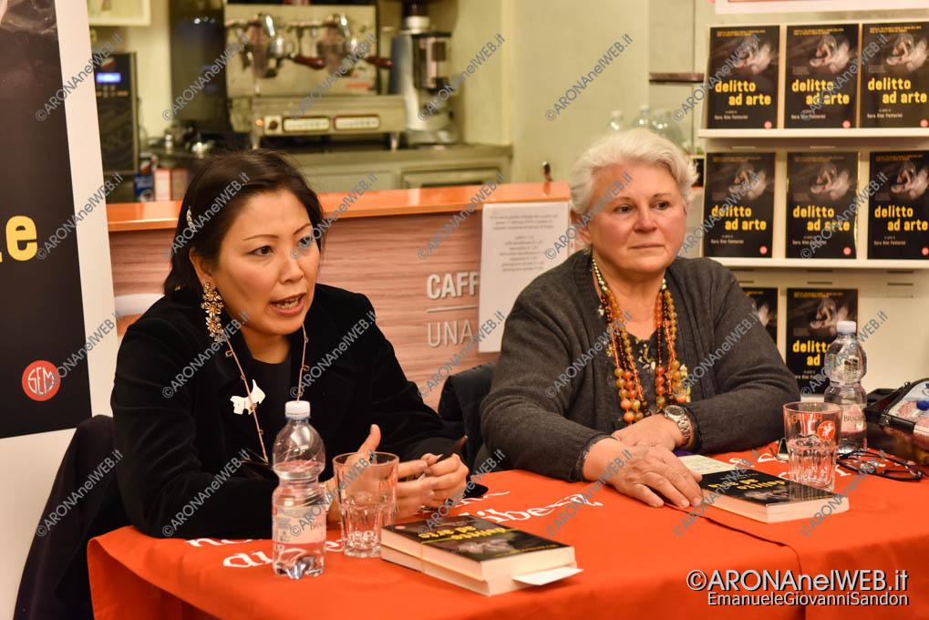 EGS2019_03412 | Sara Kim Fattorini con la giornalista Ambretta Sampietro