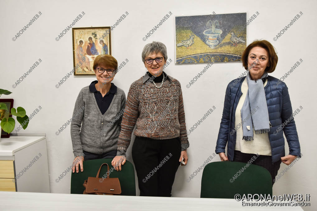 EGS2019_03576 | Le dott.se volontarie Cinzia Vecchio, Fabiana Caligara e Anna Pistocchini