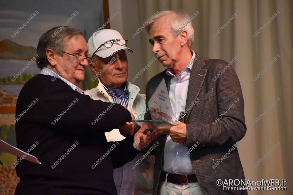 EGS2019_08171 | Ferruccio Cairo ritira il premio in ricordo del papà Mario Cairo