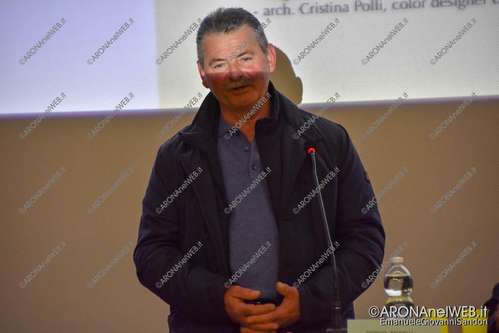 EGS2019_08523 | Giorgio Brovelli, presidente Soc. Coop. Pescatori e Acquacoltori del Golfo di Solcio di Lesa