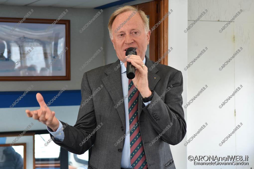 EGS2019_09577 | Giovanni De Bernardi, presidente Ecomuseo del Lago d'Orta e Mottarone