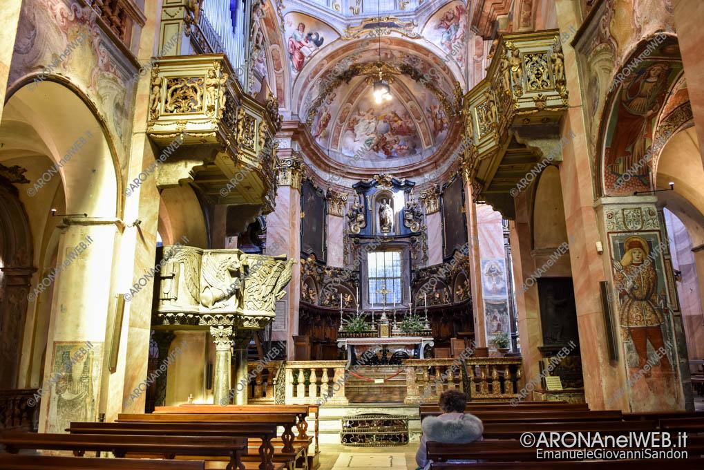 EGS2019_09754 | Interno Basilica di San Giulio - Isola di San Giulio