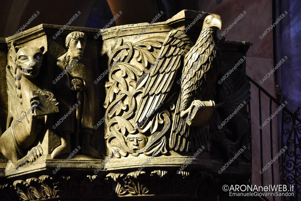 EGS2019_09810 | Particolare dell'Ambone della Basilica di San Giulio