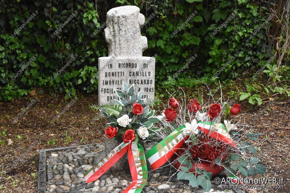 EGS2019_12727 | Cippo in ricordo dei Caduti il 26 aprile 1945 Donetti Camillo e Imovilli Riccardo