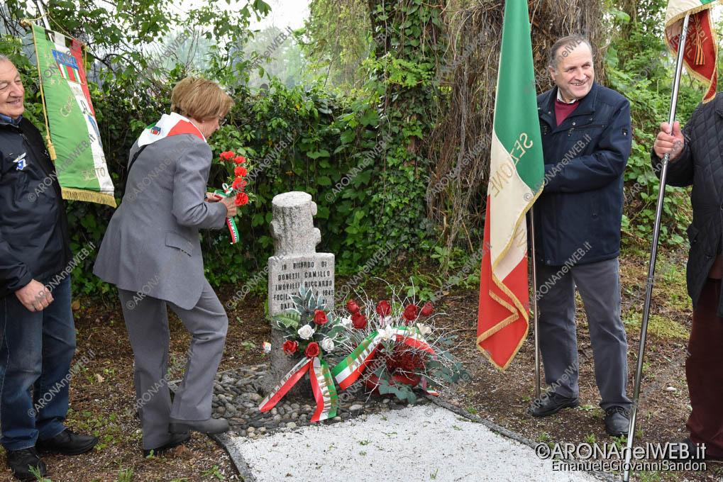 EGS2019_12737 | Cippo in ricordo dei Caduti il 26 aprile 1945 Donetti Camillo e Imovilli Riccardo