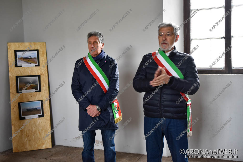 EGS2019_13733 | Federico Monti, vicesindaco di Arona e dott. Piero Giuseppe David, sindaco di Comignago